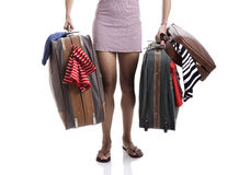 Traveller woman Royalty Free Stock Photos