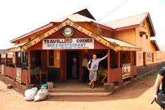 Travellers Corner Bar & Restaurant Masindi, Uganda Stock Photo