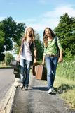 Travellers teen Stock Images