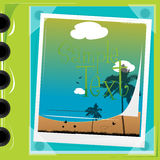 Travelling album. Illustration of travelling album with isolated background Stock Photos