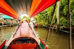Travelling around Bangkok Royalty Free Stock Photography