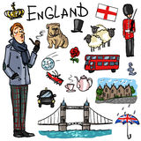 Travelling attractions - England Royalty Free Stock Image