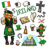 Travelling attractions - Ireland Stock Image