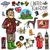 Travelling attractions - United Kingdom Royalty Free Stock Photo