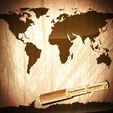 Travelling background Stock Image