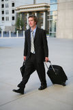 Travelling Business Man Stock Images