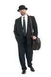 Travelling businessman Royalty Free Stock Image