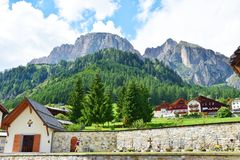 Travelling in Cadore and Dolomiti mountains Stock Images