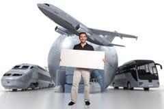 Travelling communication Stock Photo
