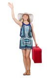 Travelling concept with person Royalty Free Stock Image