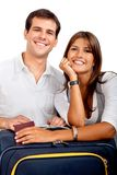 Travelling couple Royalty Free Stock Images