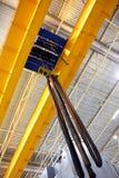 Travelling crane stock photos