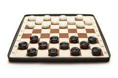 Travelling draughts Royalty Free Stock Photo
