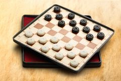 Travelling draughts Stock Image