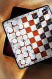 Travelling draughts Stock Photo