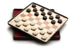 Travelling draughts Royalty Free Stock Images
