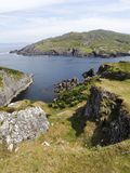 Travelling Dursey Island Royalty Free Stock Image