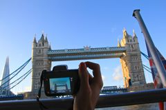 Travelling in London, Photography royalty free stock photo