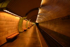 Travelling by metro Royalty Free Stock Photography