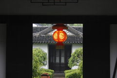 Travelling an old town and enjoying the released time  in the light rain day (Jiaxing,China ) Royalty Free Stock Photos