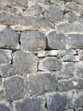 Wall of stones in Croatia. Travelling. Opatija. Achitecture Stock Photo