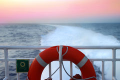 Travelling by sea Stock Image