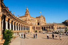 Travelling in Sevilla Royalty Free Stock Photo