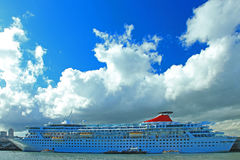 Travelling Ship Royalty Free Stock Image