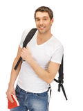 Travelling student Royalty Free Stock Photo