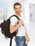 Travelling student Stock Photos