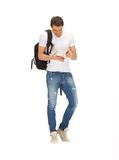 Travelling student Stock Images