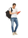 Travelling student Stock Photo
