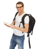 Travelling student Royalty Free Stock Photography