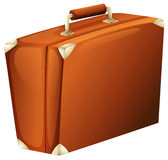A travelling suitcase. Illustration of a travelling suitcase on a white background Stock Photos