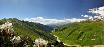 Travelling in Svaneti Royalty Free Stock Image