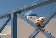 Travelling teddybear Royalty Free Stock Photography
