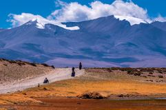 Travelling in Tibet:The Pilgrim People Stock Images