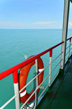 Travelling on the ferryboat to Island Royalty Free Stock Images
