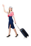 Travelling tourism concept isolated Stock Photo