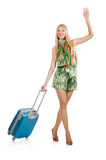 Travelling tourism concept isolated Stock Photos