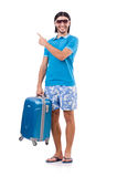 Travelling tourism concept Stock Images