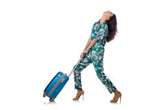 Travelling tourism concept isolated Stock Photography