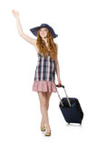 Travelling tourism concept isolated Royalty Free Stock Image