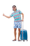 Travelling tourism concept isolated Royalty Free Stock Photography