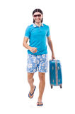 Travelling tourism concept isolated Stock Image