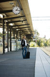 Travelling Woman Royalty Free Stock Image