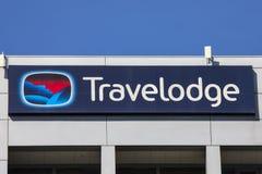 Travelodge-Hotel lizenzfreie stockbilder