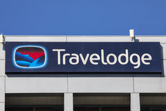 Travelodge Hotel Royalty Free Stock Images