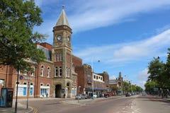 Travelodge, władyki ulica, Southport, Merseyside Obraz Royalty Free