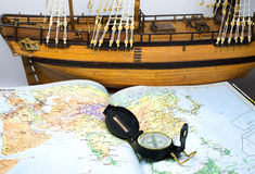 Travelplan Royaltyfria Bilder
